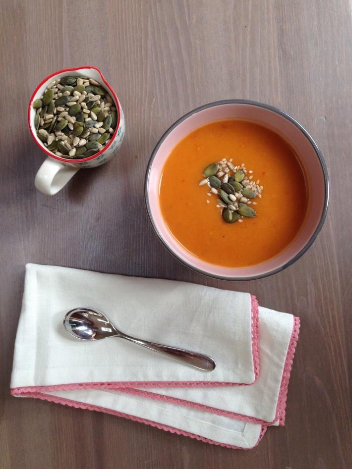 Spooky Pumpkin Soup